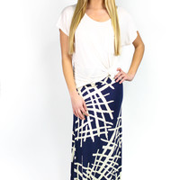 Cat Scratch Fever Maxi Skirt