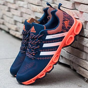 Adidas Women Fashion Ventilation Running Sneakers Sport Shoes