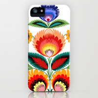 Polish Folk Art iPhone Case by Bachullus  | Society6