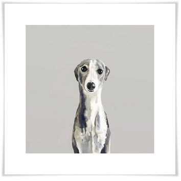 Best Friend - Whippet Wall Art