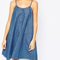 Monki Cami Denim Sun Dress
