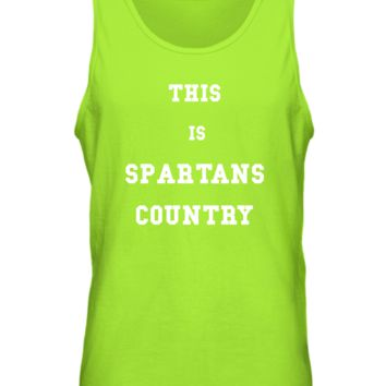 Michigan State-Spartans Country Basic Tank