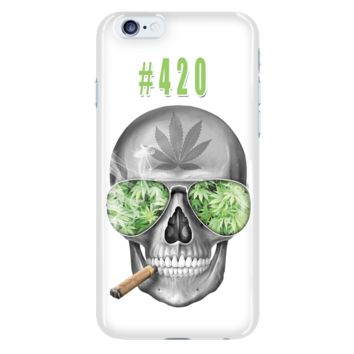 #420 Weed iPhone 6 Plus & iPhone 6s Plus Cellphone Case
