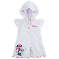 Minnie Mouse White Cover-Up for Baby