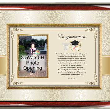 Picture Graduation Photo Frame Poetry