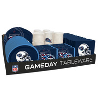 NFL 66 Package Tableware Counter Display Tennessee Titans