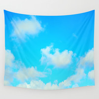 Clouds Wall Tapestry by 2sweet4words Designs