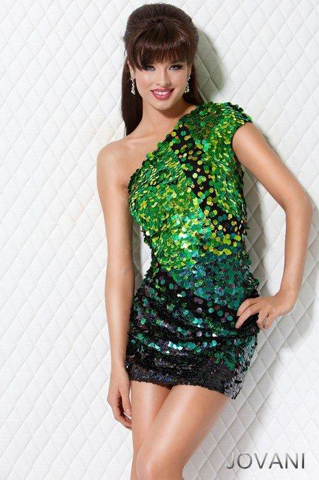 Multicolor sequin homecoming dress, Style 7238