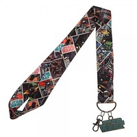 MPL Star Wars Wide Lanyard with Metal Charm
