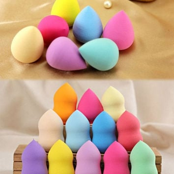 Makeup Foundation Sponge Blender Cosmetic Puff Flawless Powder Smooth Beauty