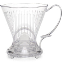 """Clever Coffee Dripper by CoastLine, Fits Cups & Thermoses with 1.5"""" & 3.75"""" Tops - Combines Features of a French Press & Drip Brewer- BPA FREE - Eastman Tritan Platic - Easy to Clean"""