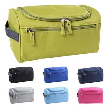 Waterproof Men Hanging Makeup Nylon Travel Organizer Cosmetic Bag Wash Toiletry Case LT88