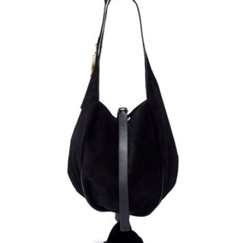 JW Anderson | 'Knot' suede hobo bag | Women | Lane Crawford - Shop Designer Brands Online