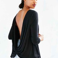 Project Social T Delia Surplice-Back Top