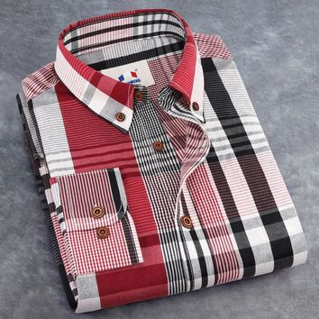 mens plaid casual