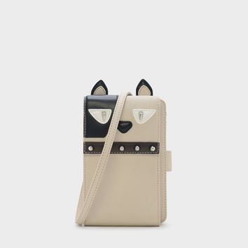 MULTI Studded Canine Pouch |CHARLES & KEITH