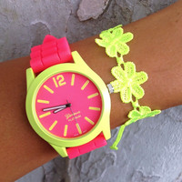 Neon Glow Stack