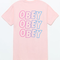 OBEY Jumbled Split T-Shirt at PacSun.com