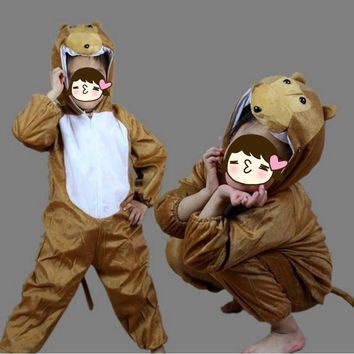 Children Cartoon Monkey Theme Anime Cosplay Jumpsuits Clothes Hallowmas Costume Carnival Party Birthday Gift