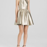 Alice + Olivia Dress - Tevin Metallic | Bloomingdales's
