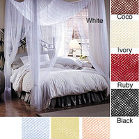 Woven Polyester Four-point Canopy (76' x 84' x 96') | Overstock.com