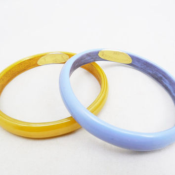 Jay Strongwater Bangle Bracelets, 1990-1994 Minimalist Jay Strongwater, Unusual Hard to Find, Collectible Jay Strongwater