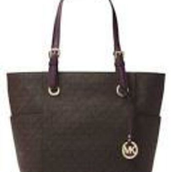 ac spbest black Micheal kors signature bag