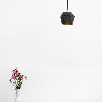 Concrete hanging lamp T2