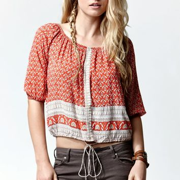 FAITHFULL THE BRAND Garden Top - Womens Shirts - Multi