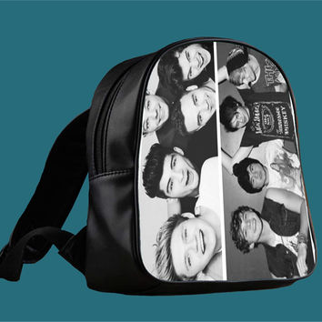 5sos 1d for Backpack / Custom Bag / School Bag / Children Bag / Custom School Bag *