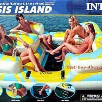 Intex Oasis  Island  Inflatable Relaxation Pool Float  Lounge Raft  NEW on eBay!