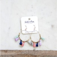 Buenos Aires Earrings, Multi Colored