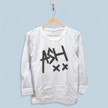 Long Sleeve T-shirt - Ash xx Ashton Irwin 5SOS