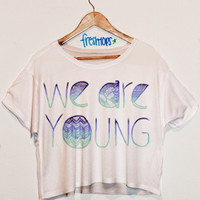 We Are Young Aztec Crop Shirt