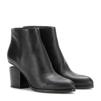 alexander wang - gabi leather ankle boots