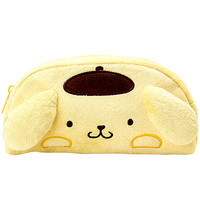 Buy Sanrio PomPomPurin Plush Face Curved Zipped Pen Pouch at ARTBOX