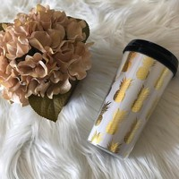 Cute Pineapple Travel Mug