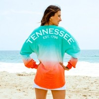 Tennessee EST. 1796 Ombre Spirit Football Jersey®