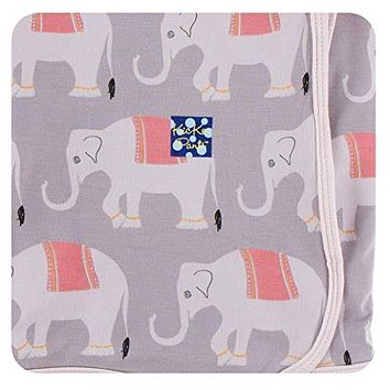 Kickee Pants India Collection Print Swaddling Blanket