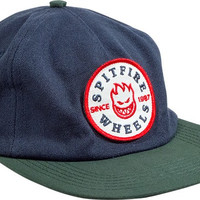 Spitfire Classic Bighead Patch Unstr.hat Adjustible Navy/Green