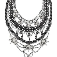 XEVANA x REVOLVE 1 Necklace in Metallic Silver