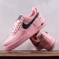 DCCK N163 Nike Air Force 1 Supreme X The North Face Causal Skate Shoes Pink