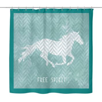 Free Sprit shower curtain