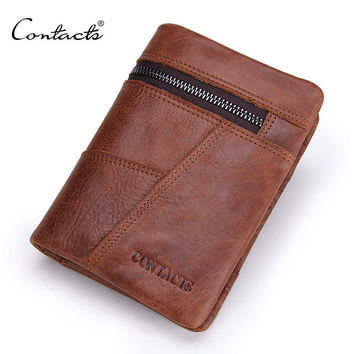 Men Wallet Stylish Patchwork Purse [9026453955]
