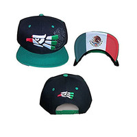 Mexico Embroidered & Printed Baseball Caps Hats (AGCapMX75C)