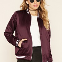Sheeny Padded Varsity Jacket
