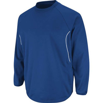Majestic Athletic Majestic Youth Therma Base Tech Fleece Pullovers X-Large Royal Royal X-Large