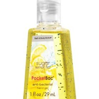 Sugar Lemon Fizz PocketBac Sanitizing Hand Gel   - Anti-Bacterial - Bath & Body Works