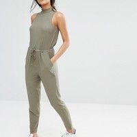 River Island High Neck Jumpsuit