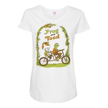 frog & toad Maternity Scoop Neck T-shirt